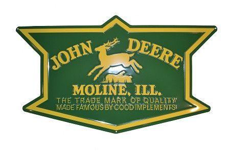 JOHN DEERE Moline EMBLEM ROUND