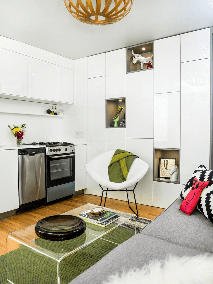 Small Kitchen And Living Room Combo Open One Wall Small Apartment Kitchen Dining Room Combo Small Kitchen And Living Room Combo