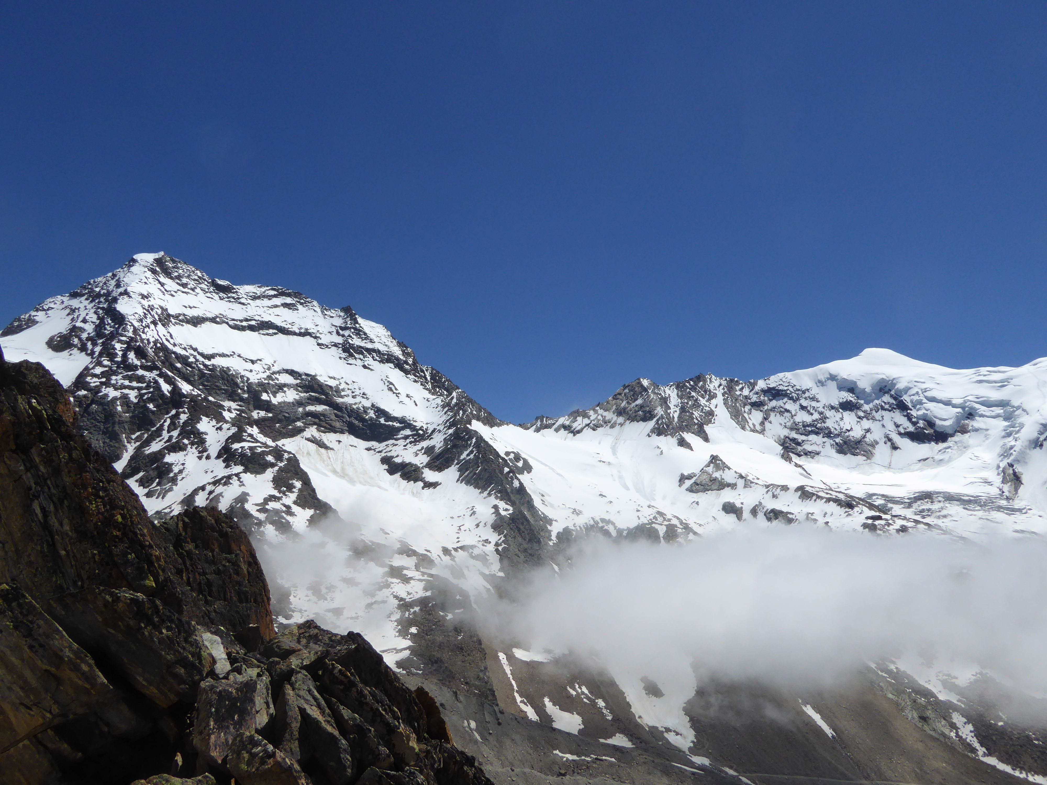 Klettersteig Jägihorn : Panorama klettersteig jägihorn kreuzboden kletterseig