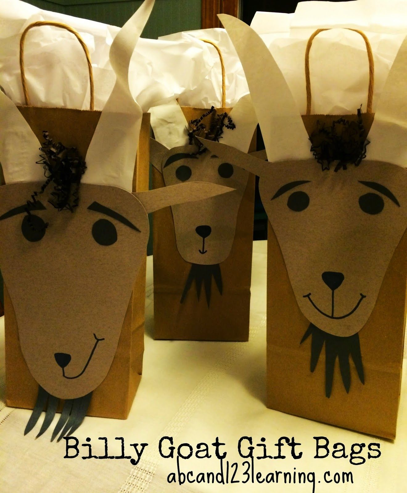 Abc And 123 Ideas For Throwing A Three Billy Goats Gruff