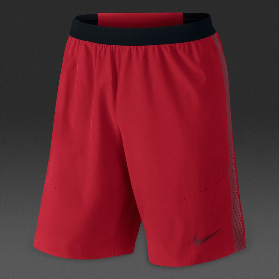 Nike Strike Woven Short Shorts Mens University Red/Team Red