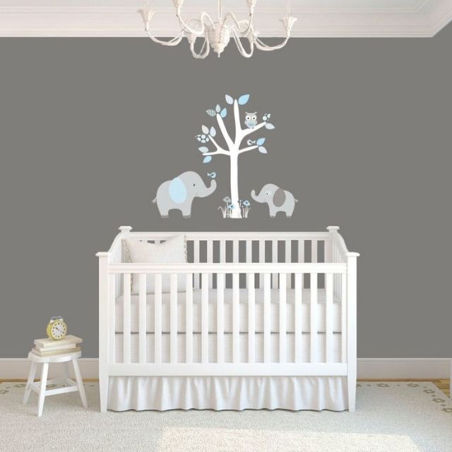 decoration chambre bebe elephant