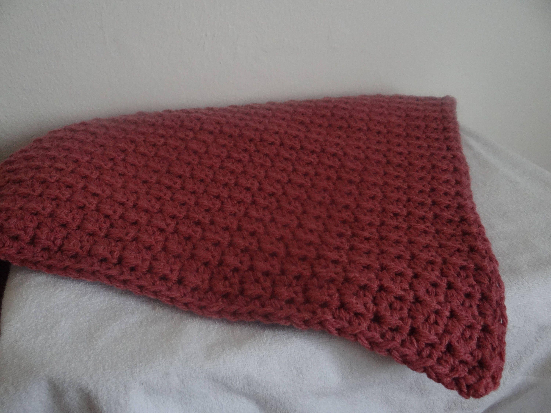 couverture bébé laine tricotée main Couverture bébé, laine, tricotée, fait main, 74 cm x 75 cm | Unique couverture bébé laine tricotée main