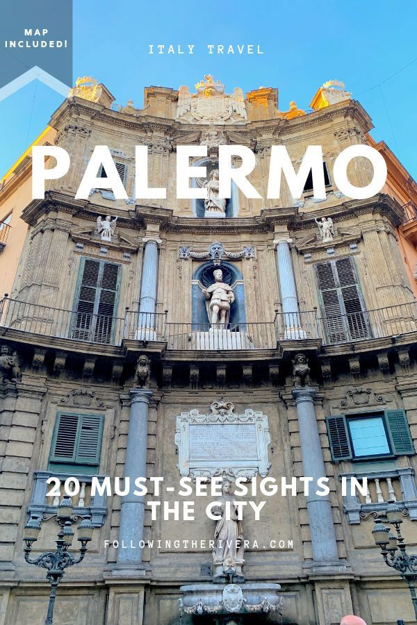 Don't miss out seeing the top attractions in #palermo with this detailed post, which also includes a map of where to find all the sights. #sicily #italy #italia #sicilia #italytravel #travelItaly #sicilytravel #traveltips #traveldestinations #travelideas #smalltownitaly #travelersnotebook #traveladvice #traveladviceandtips #traveltipsforeveryone #traveladdict #travelawesome #travelholic #europetravel