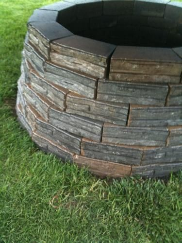 4 In X 12 In X 7 5 In Charcoal Tan Concrete Retaining Wall Block 86935 The Home Depot Concrete Retaining Walls Concrete Wall Flagstone