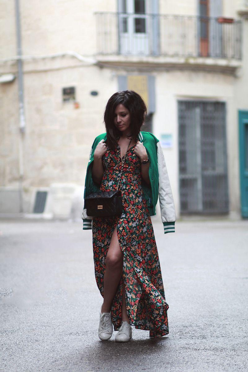 95cf8375ed59 Robe Zara - baskets Lacoste - Teddy vert I Blog mode Le Petit Monde de  Julie I Toujours un style super