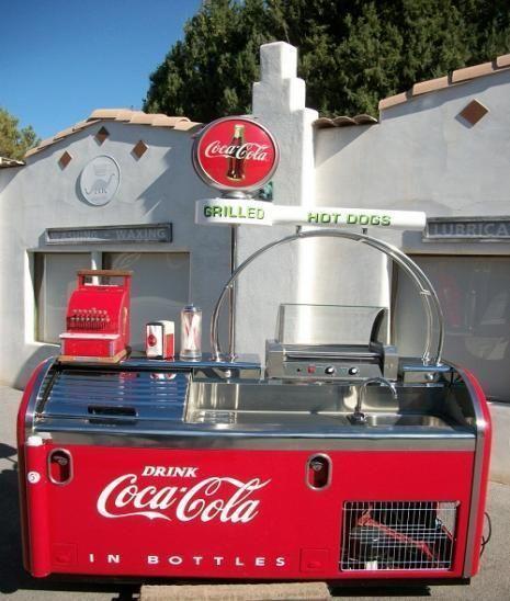 Coca-Cola Cooler/Grill   Soda Creations   Coca cola, Coca