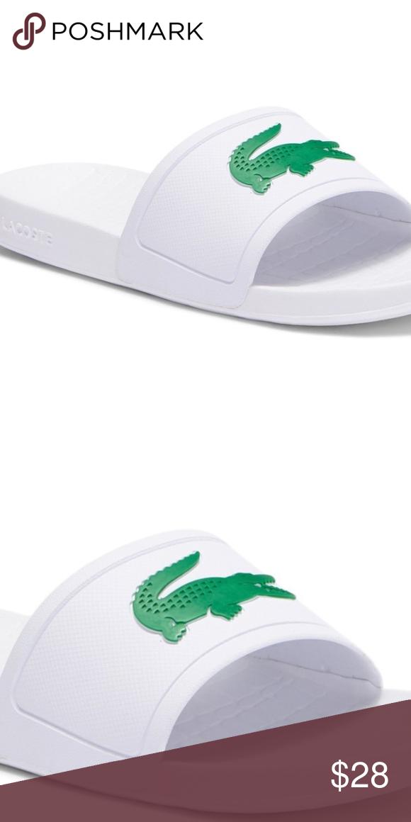 c8129ea7898596 NWT ⭐ Lacoste Sandal Men s Slide Sandal. SUPER COMFORTABLE!! Lacoste