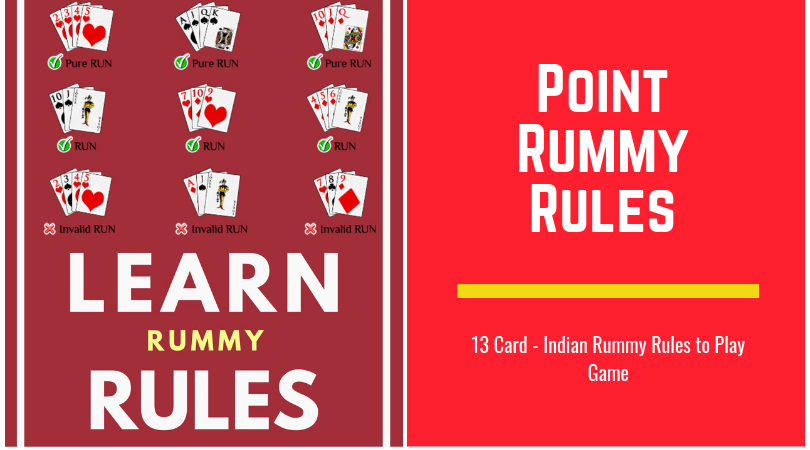 point rummy rules and strategies to explain stepstep