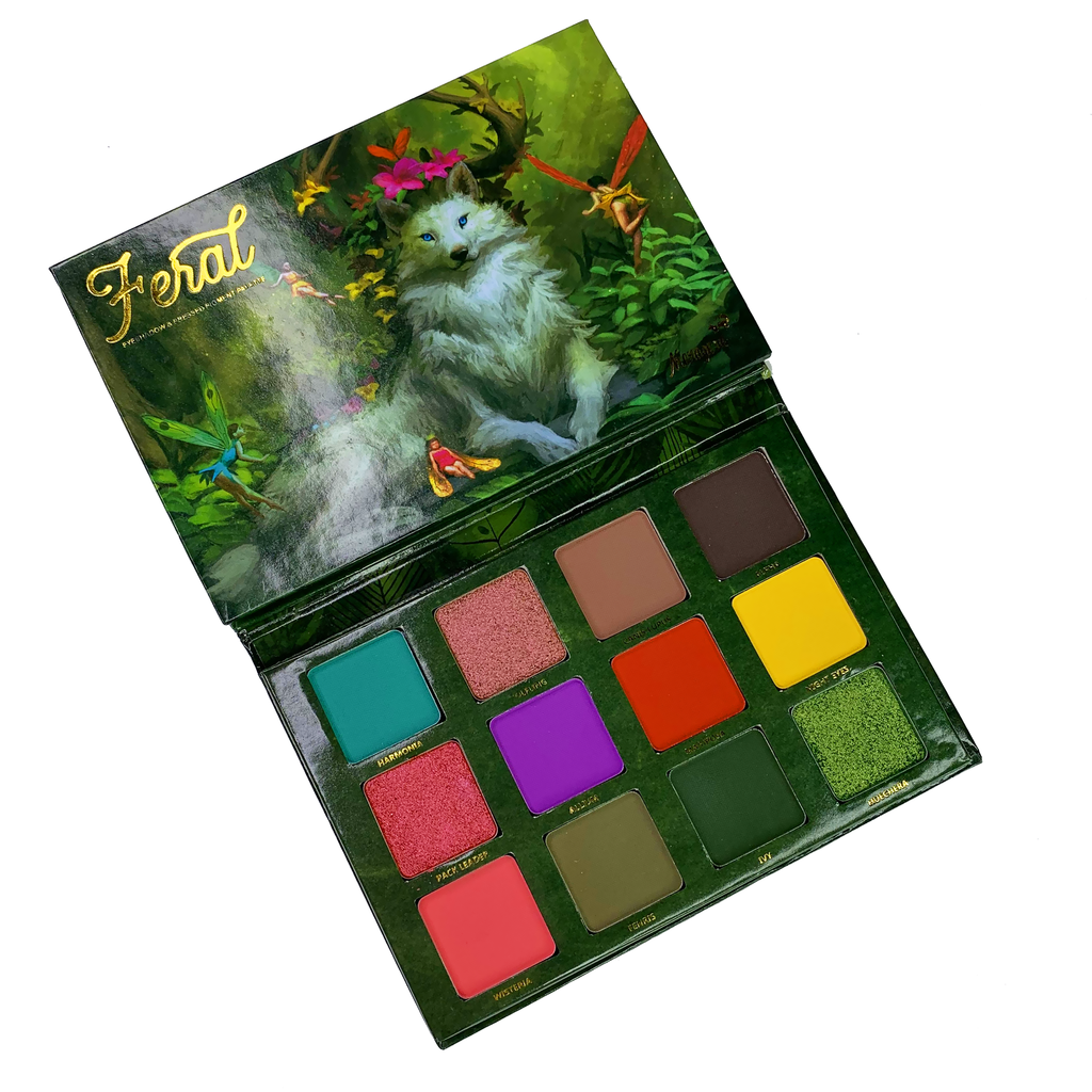 Feral Eyeshadow Palette (With images) Eyeshadow palette