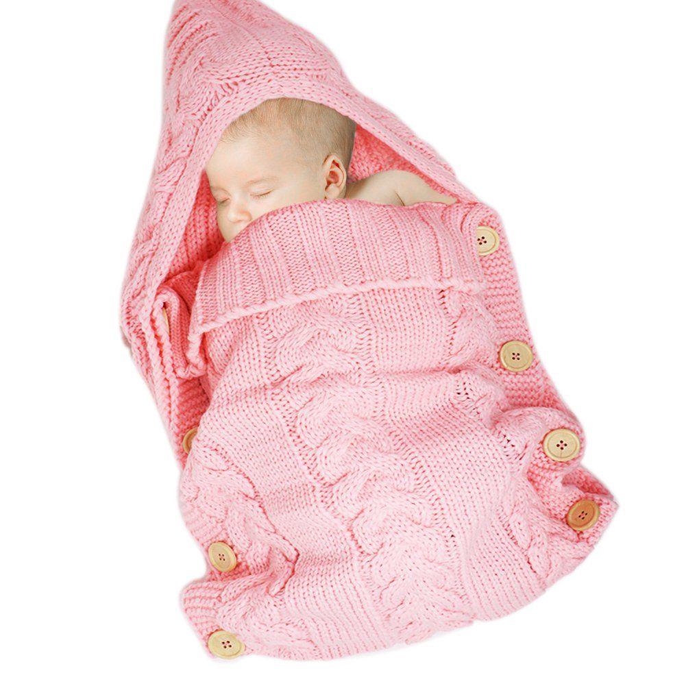 Onshine Newborn Baby Swaddle Blanket Large Swaddle Soft Knit