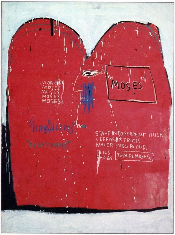 Cuadros De Kandinsky Cave To Canvas, Jean-michel Basquiat, Moses And The