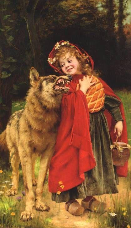 Красная Шапочка (история и варианты сюжета, иллюстрации ...