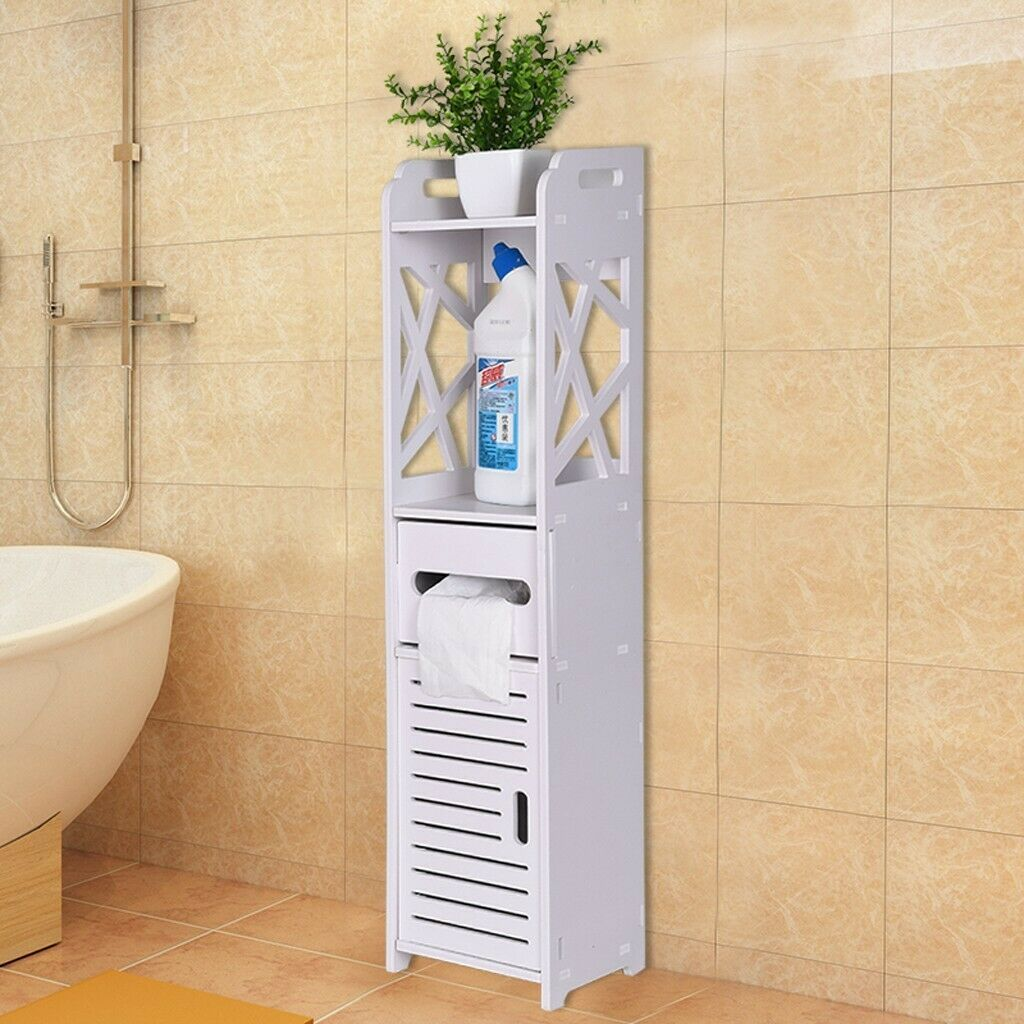 Bathroom Corner Storage Shelf Cabinet Toilet Vanity Cabinet Bath Sink Organizer 25 99 Corner Storage Shelves Bathroom Corner Storage Bathroom Floor Cabinets