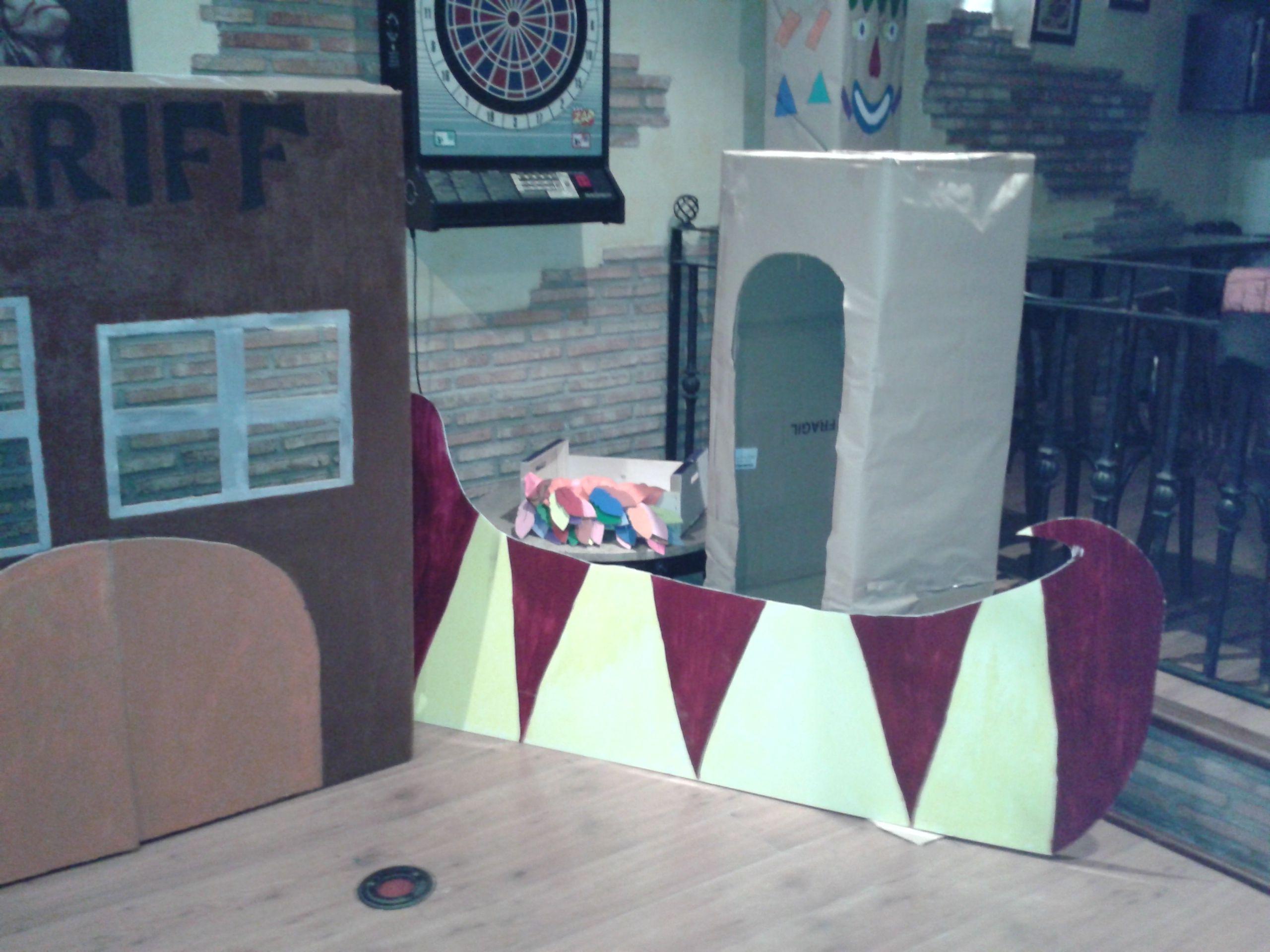 fiesta de nenes indios y vaqueros  www.lafraguadecimmeria.com