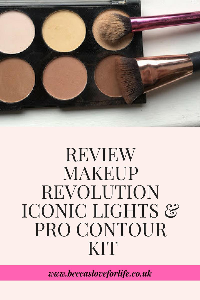 Review Makeup Revolution iconic lights & contour pro kit