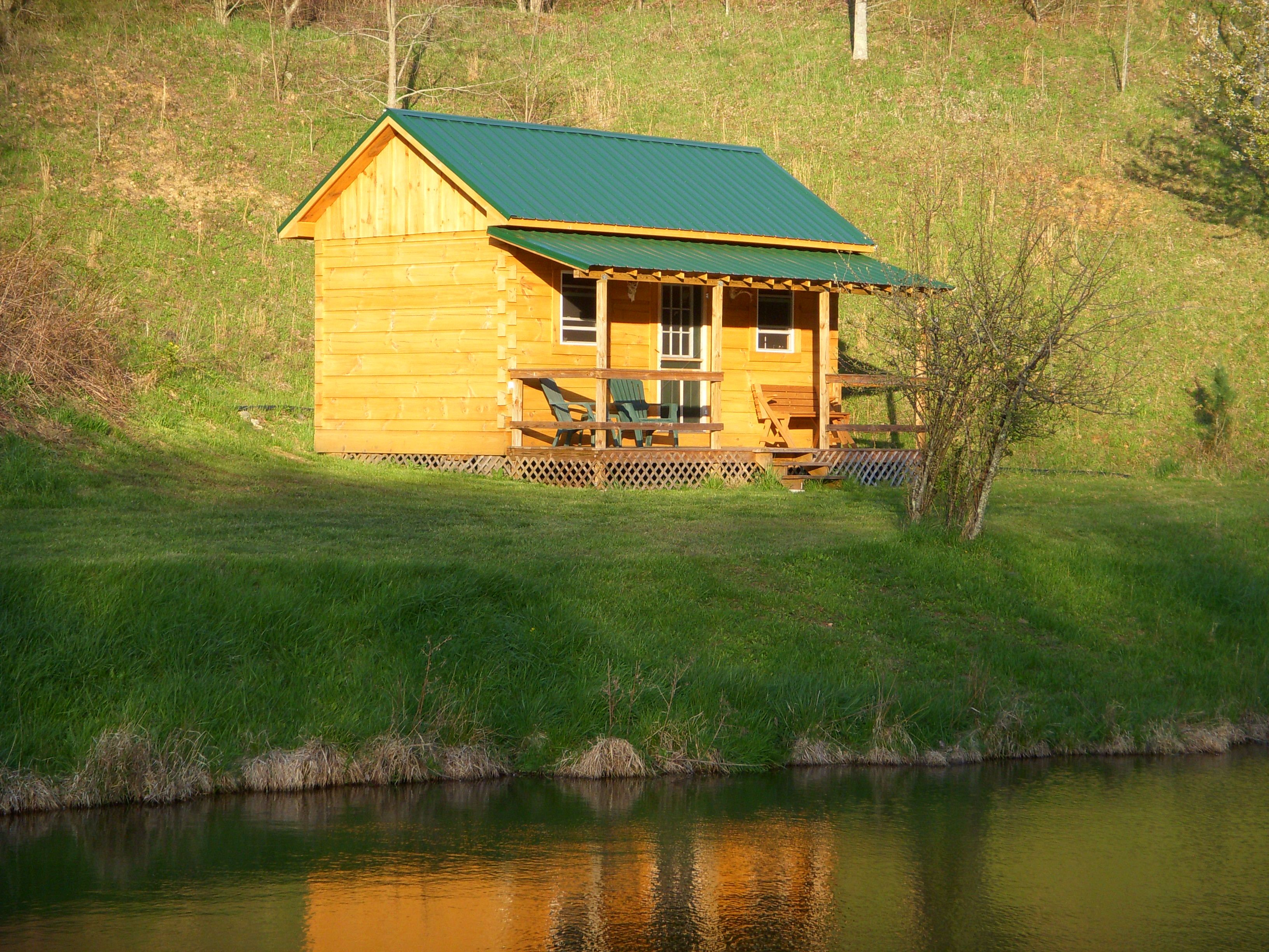 Marvelous photograph of Small cabin by the lake !!!Uncle Tom's cabin (by the lake)!!! Pin  with #AE8B1D color and 3264x2448 pixels