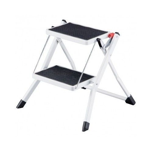 Small Step Ladder Antislip Foldable Stool Iron Portable