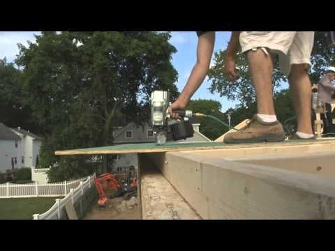 Sheathing Walls With Zip System   YouTube