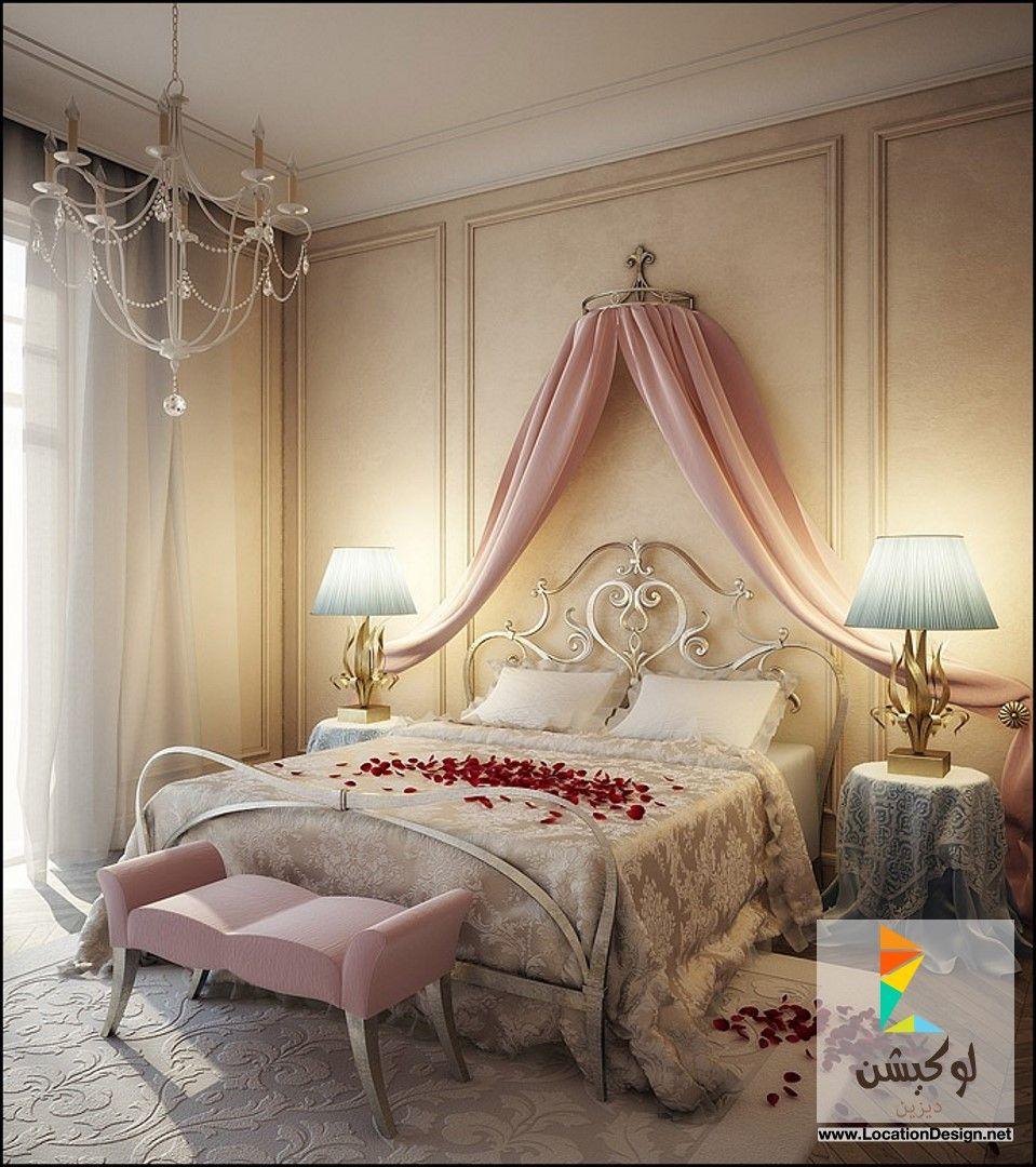 أفخم 10 تصاميم للأحدث ديكورات غرف نوم للعرسان لوكيشن ديزاين تصميمات ديكورات أفكار Feature Wall Bedroom Valentine Bedroom Decor Romantic Bedroom Design