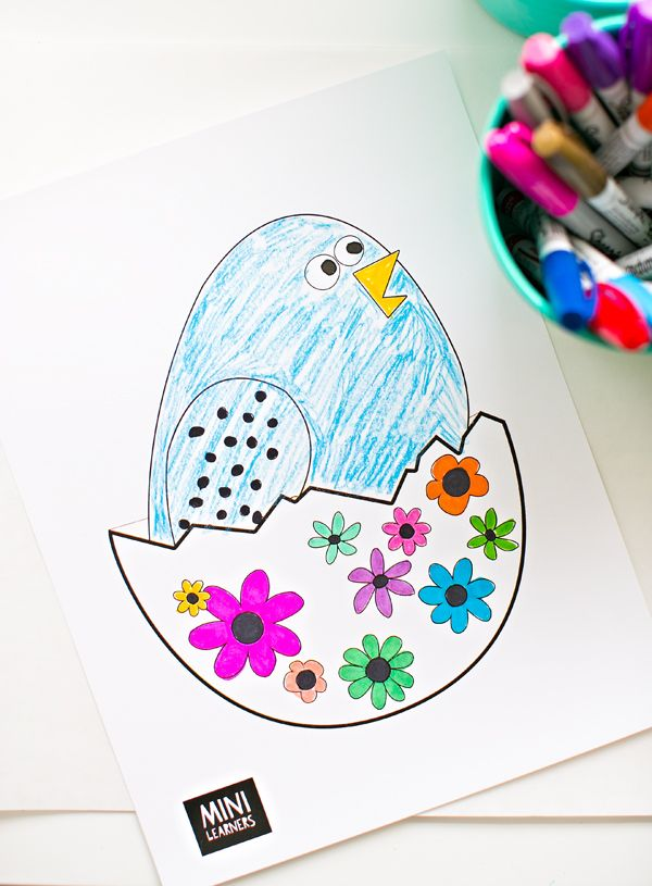 hello, Wonderful - FREE PRINTABLE EASTER COLORING PAGES