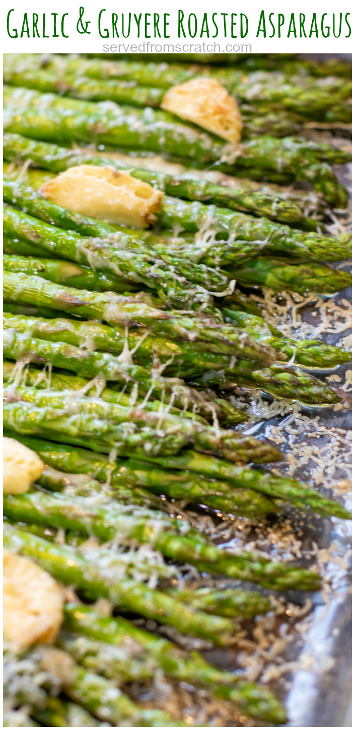 Photo of Garlic and Gruyere Roasted Asparagus
