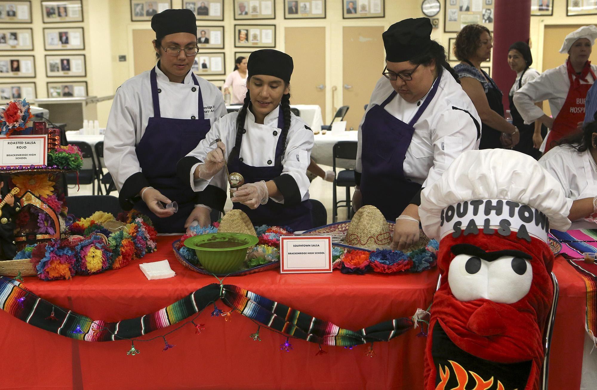 Edison High School Junior Cooks Up Salsa Recipe For All Of