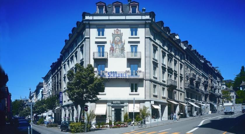 Scheuble Hotel 3 Star Hotel 148 Zurich Old Town City Center