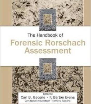The Handbook Of Forensic Rorschach Assessment (Personality And