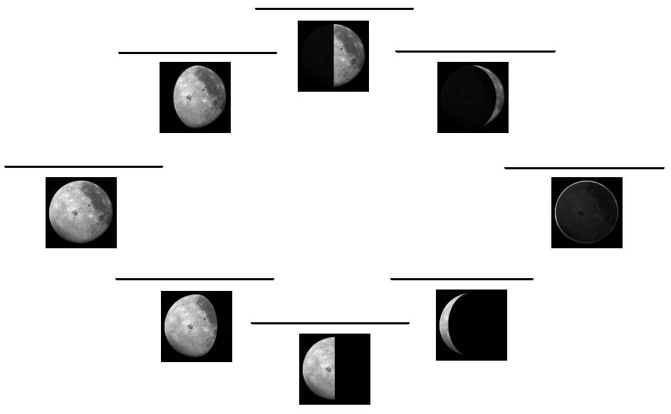 Moon Phases Diagram Blank House Wiring Diagram Symbols