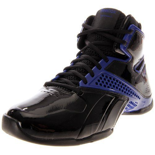 Reebok Still Talking Black Royal Basketball Shoes men s 7.5 Reebok.  32.99 9eab407ee
