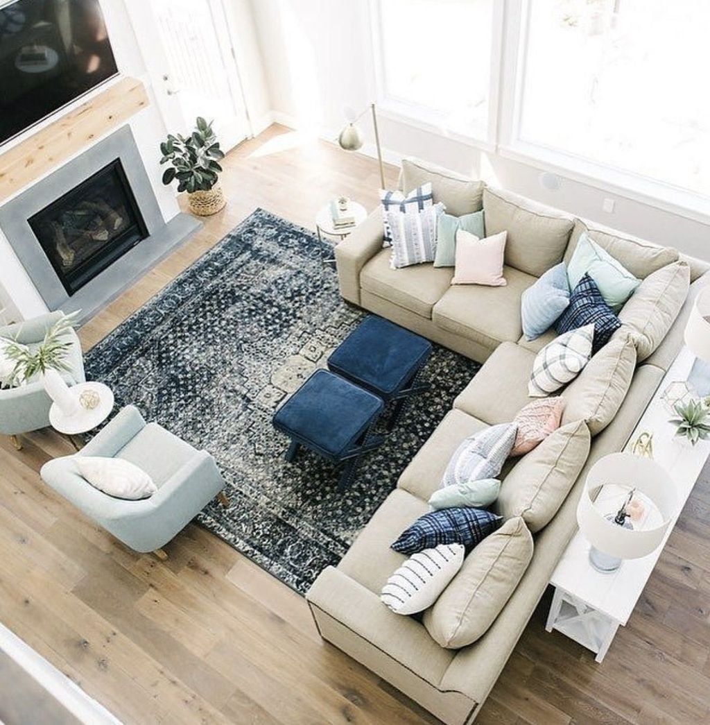 49 Cool Design Layout Ideas For Family Room Sectional Living