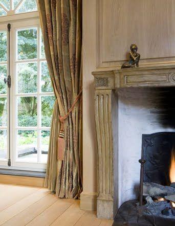 Belgian Pearls Beautiful Interior Wood Paneling Interior Design Interior Design Living Room