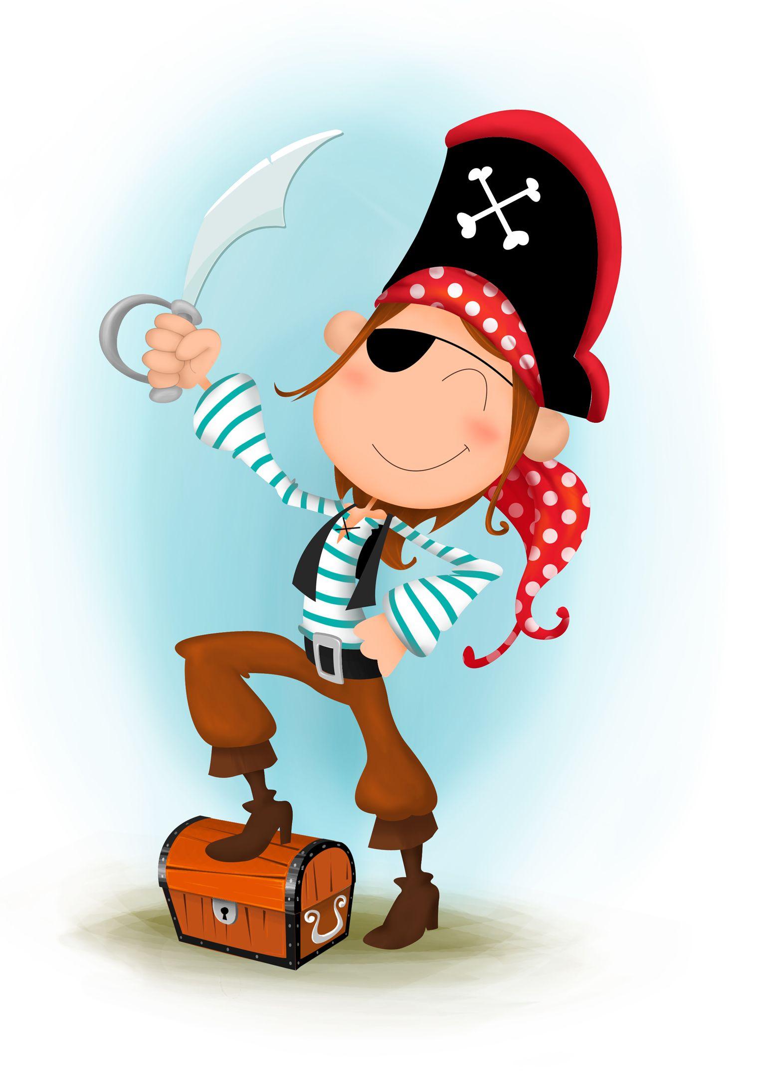 Resultado de imagen de pirata disfraces pinterest - Pirata colorazione pirata stampabili ...