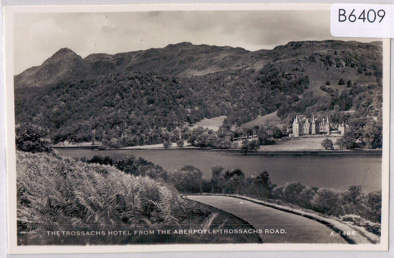 B6409cgt UK Trossachs Hotel from Aberfoyle Trossachs Road vintage postcard | eBay
