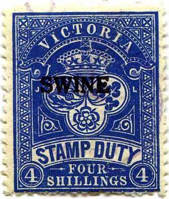 Victoria Revenue Stamp Catalogue Timbre Poste Australie La Poste