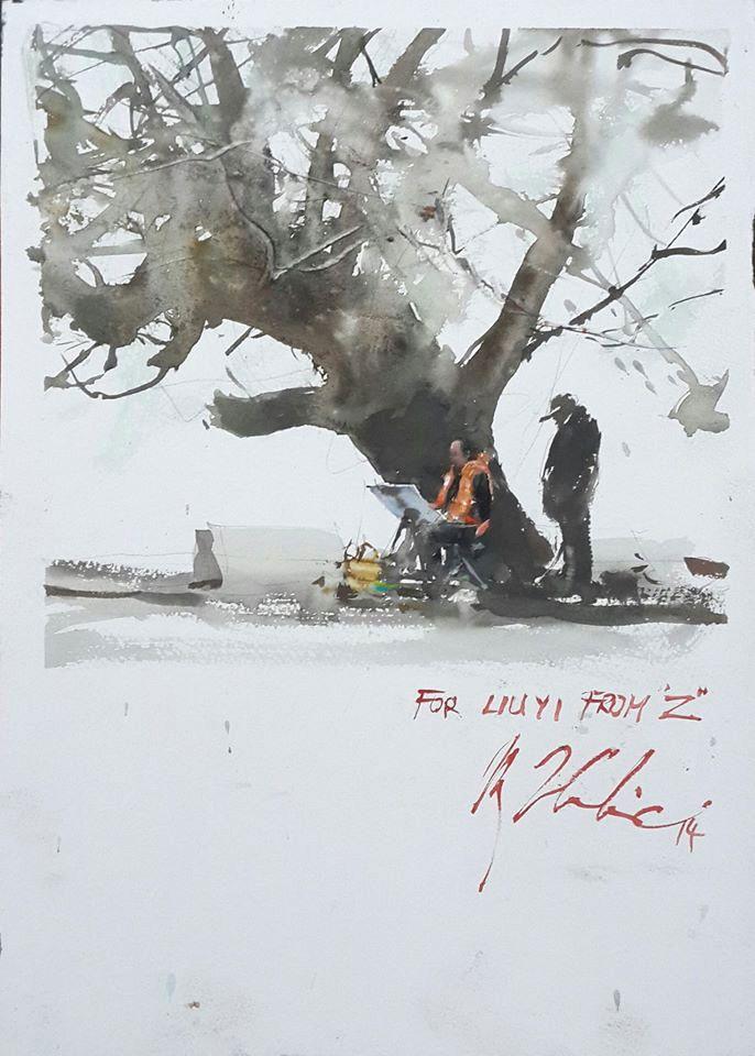 By Joseph Zbukvic for Lui Yi