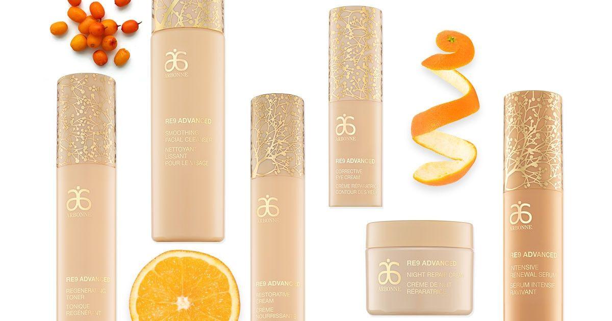 RE9 Advanced® | Arbonne Arbonne's #1 anti-aging skincare