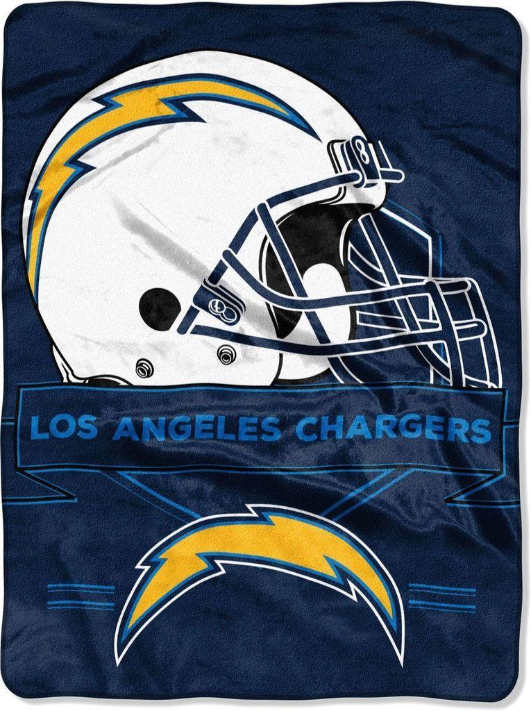Hobby Store San Diego >> Los Angeles Chargers Blanket 60x80 Raschel Prestige Design