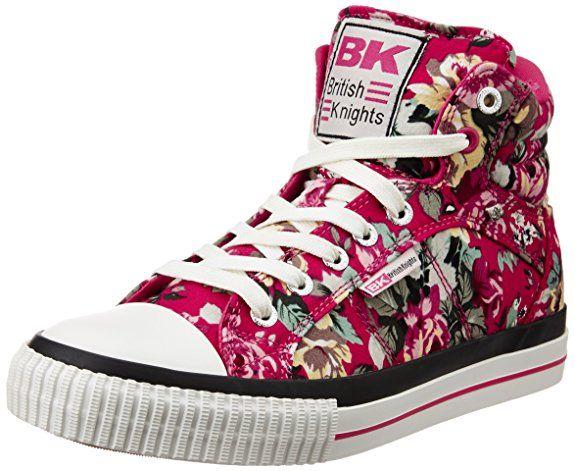 Dee, Womens Hi-Top Sneakers British Knights