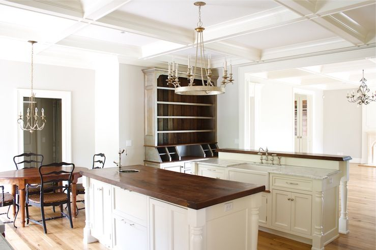 Suzie: Tiek Built Homes - Chic French country kitchen design with ...