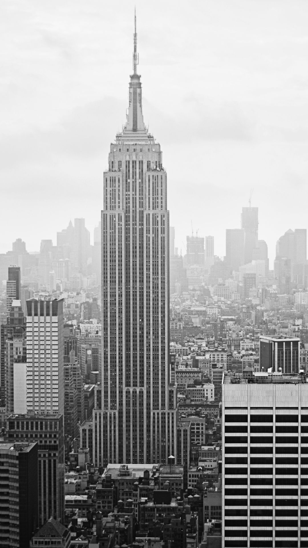 new york city empire state building iphone 6 wallpaper