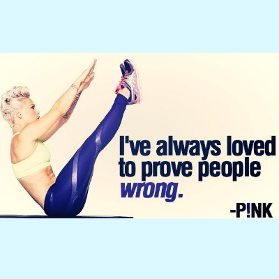 Who will you prove wrong? #strength #quotes #pink www.kendrickshope.com