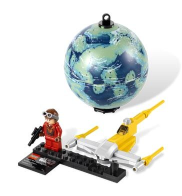 Love Lego --> StarWars.com | LEGO Naboo Starfighter & Naboo