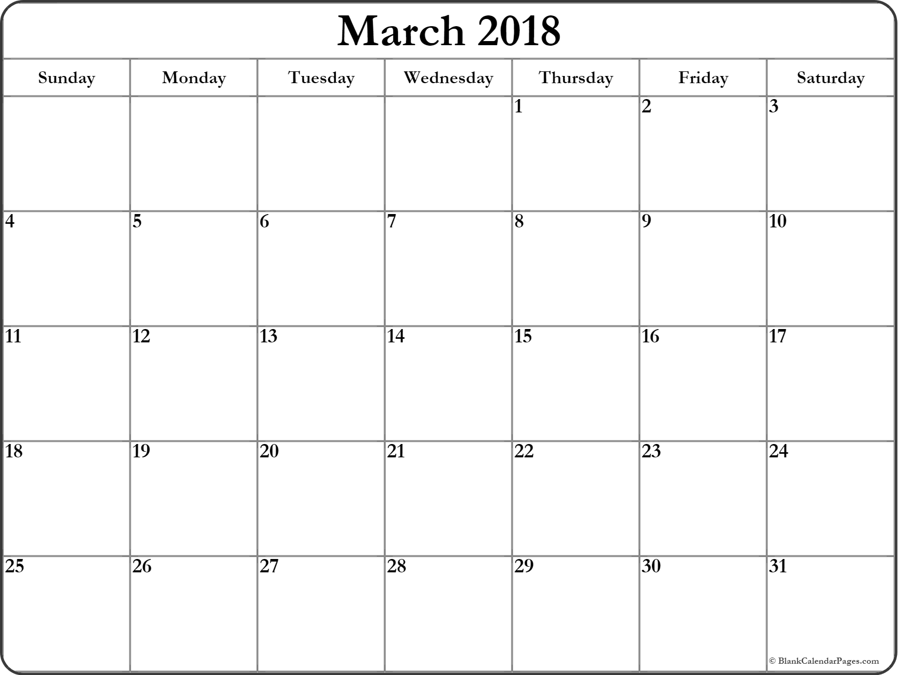 march calendar 2018 printable and free blank calendar march printable calendar