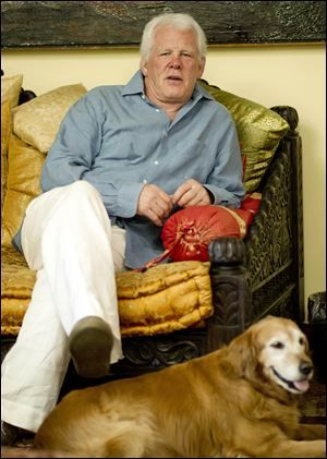 Photo of Nick Nolte & his  Dog Ginger