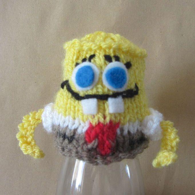 Innocent Smoothies Big Knit Hat Patterns Spongebob Squarepants