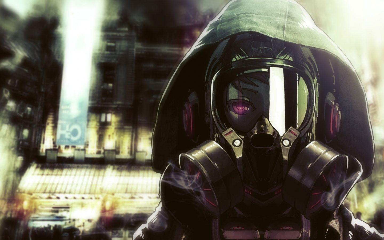 Anime boy girl running city Wallpaper 1440×900 1440×900