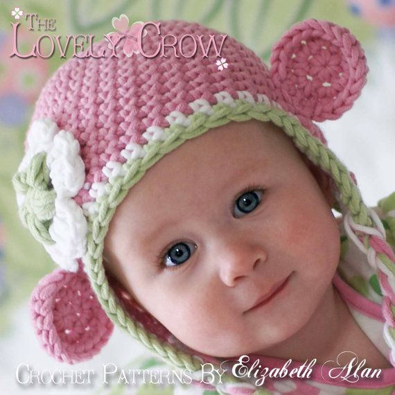 Hat Crochet Pattern For Babies Or Toddlers Bulky Yarn Monkey Earflap