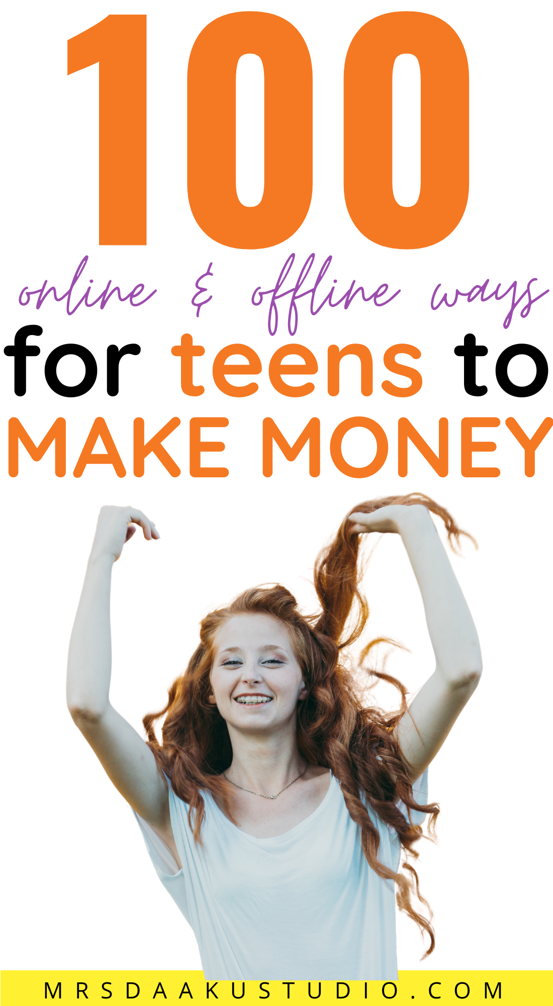 HOW TO MAKE MONEY AS A TEENAGER (earn $1000+/mo)